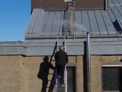 Herhahn, Zugang zum Glockenturm