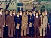 Bild 4 Siegerehrung im Saal Komberg Juli 1968