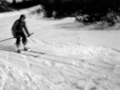 h Skiläufer Werner Bouß
