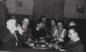 _Gaststätten Sylvester 1950 Auskarten von Neujahrswecken 2